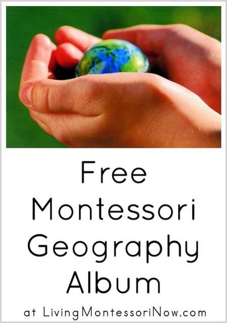 Free Montessori Geography Album
