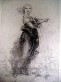 'Pointing Girl', drawing by Leonardo