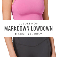 lululemon Markdown Lowdown (3/26/20)