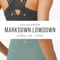 lululemon Markdown Lowdown (4/30/20)