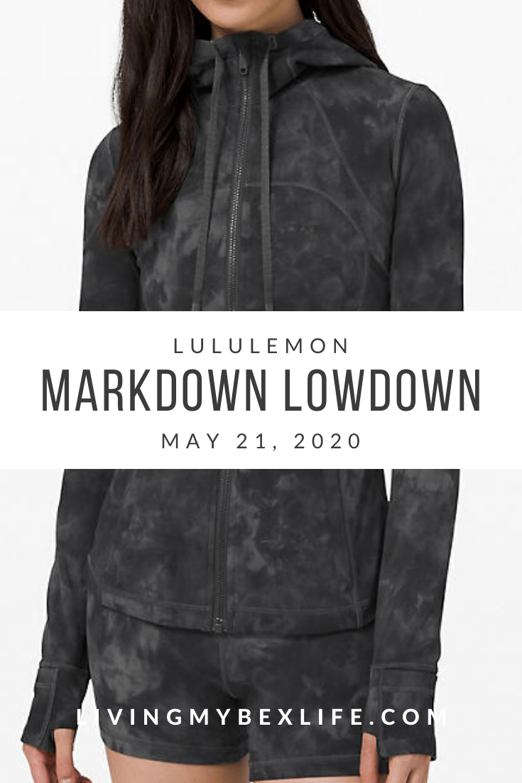 lululemon Markdown Lowdown (5/21/20)