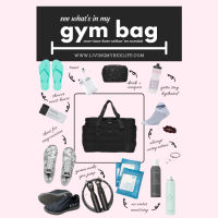What's In My Gym Bag: My Never-Leave-Home-Without-'Em Essentials