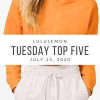 lululemon Tuesday Top 5 (7/14/20)