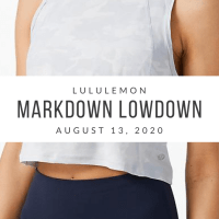 lululemon Markdown Lowdown (8/13/20)