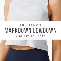 lululemon Markdown Lowdown (8/13/20)