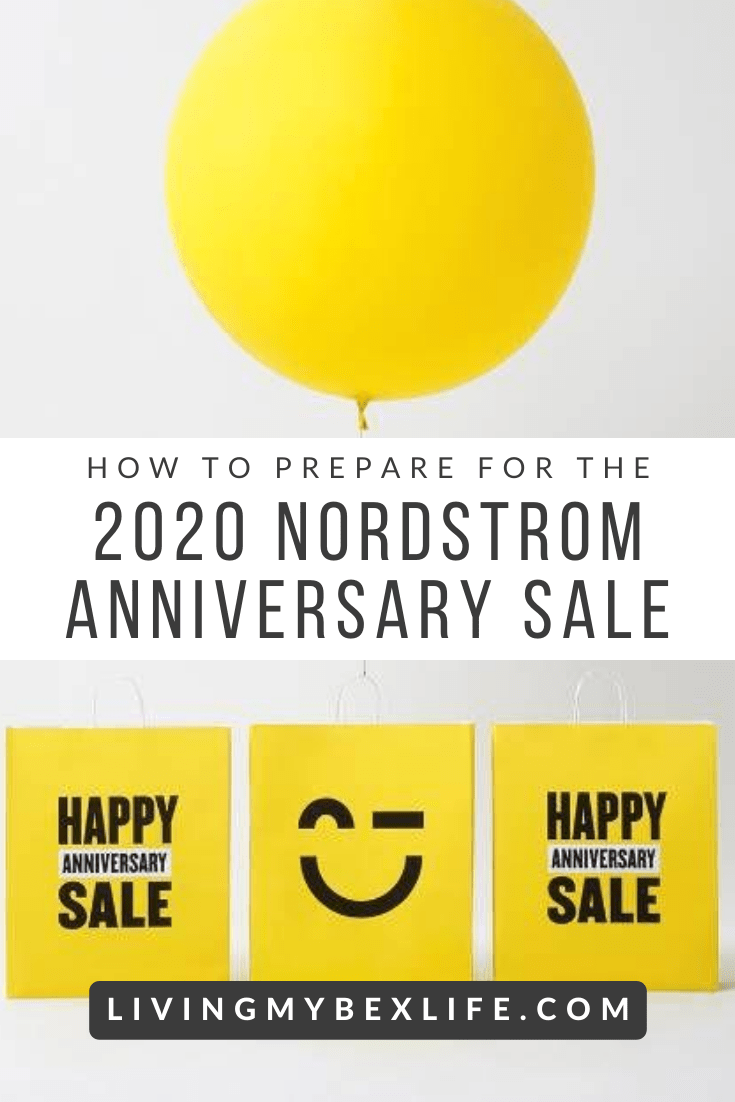 How to Prepare for the 2020 Nordstrom Anniversary Sale