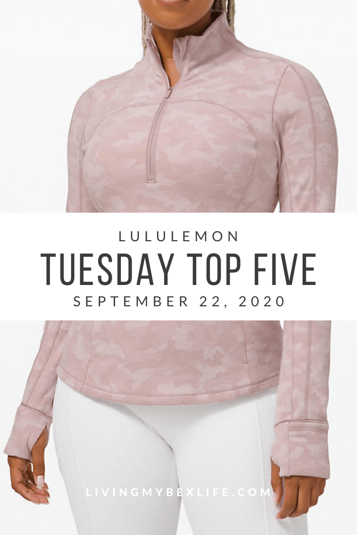 lululemon Tuesday Top 5 (9/22/20)
