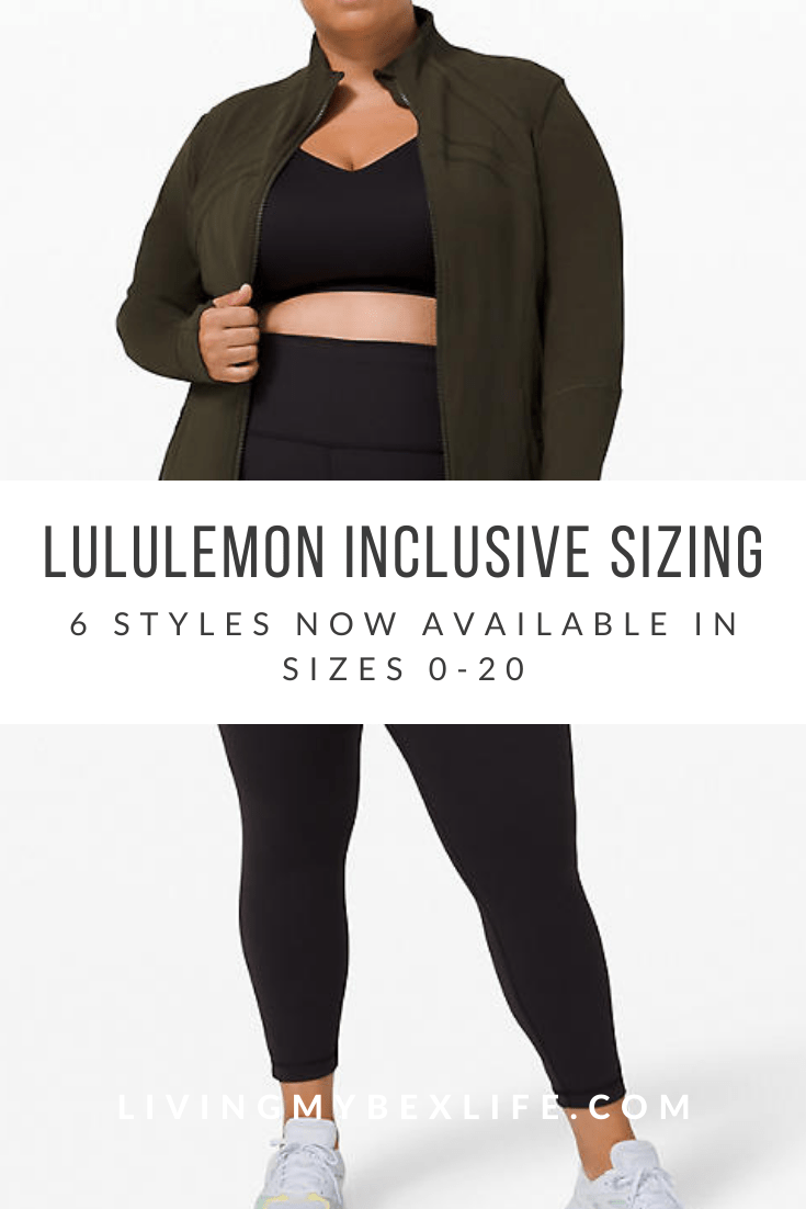 lululemon Expands Size Offering for Increased Inclusion