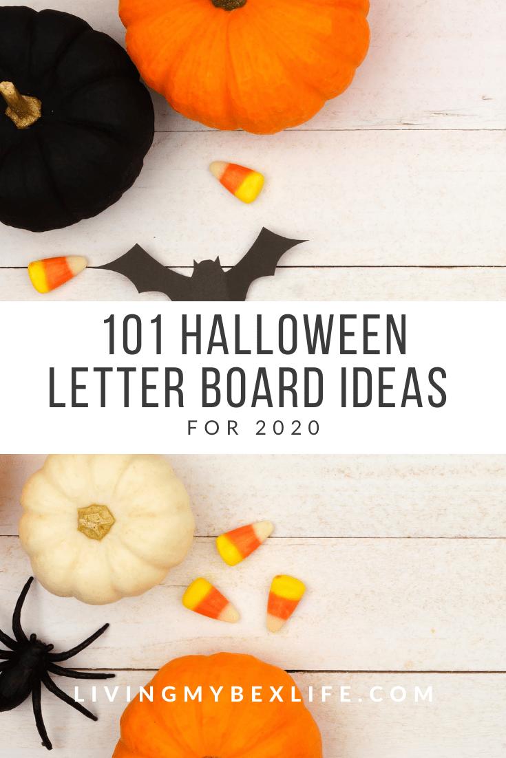 101 Halloween Letter Board Ideas for 2020