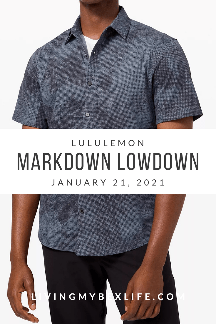 lululemon Markdown Lowdown (1/21/20)
