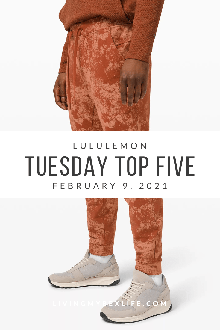 lululemon Tuesday Top 5 (2/9/21)