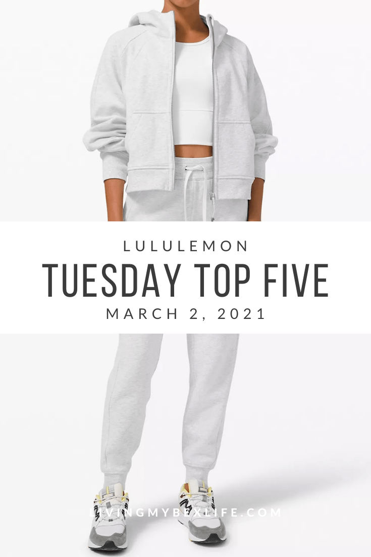 lululemon Tuesday Top 5 (3/2/21)