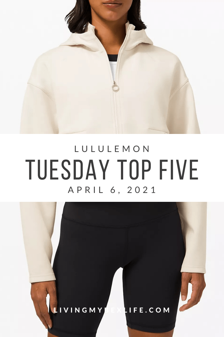 lululemon Tuesday Top 5 (4/6/21)
