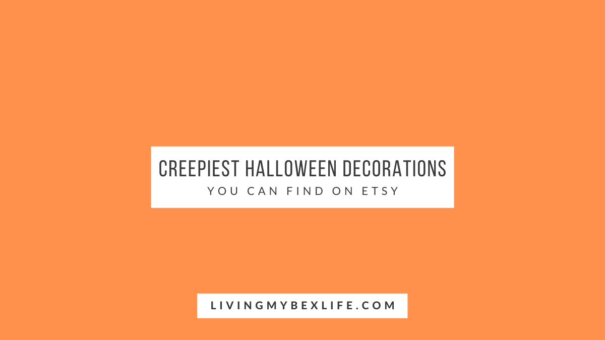 The 6 Creepiest Halloween Decorations on Etsy Right Now
