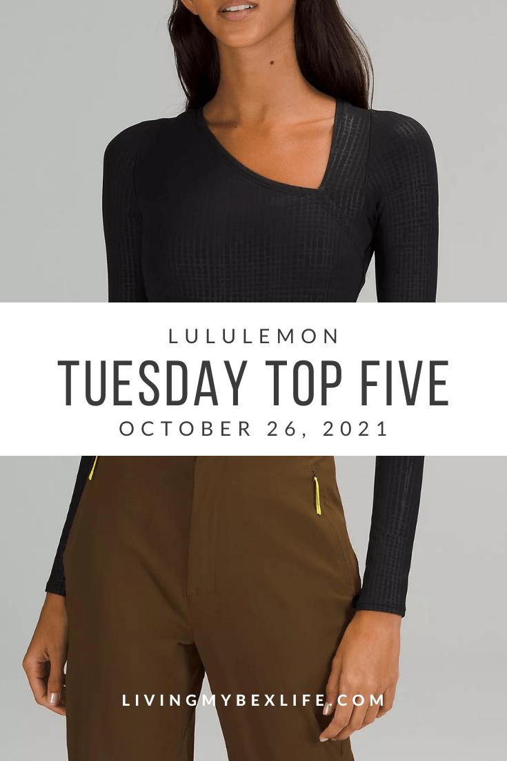 lululemon Tuesday Top 5 (10/26/21)