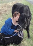 Milkmaid and her cow