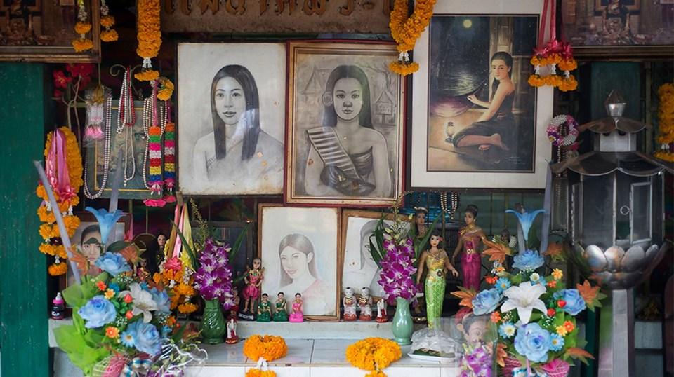 Visit Mae Nak Shrine — Explore the hidden ghost story of Mae Nak Phra Khanong in Bangkok - Living + Nomads – Travel tips, Guides, News & Information!