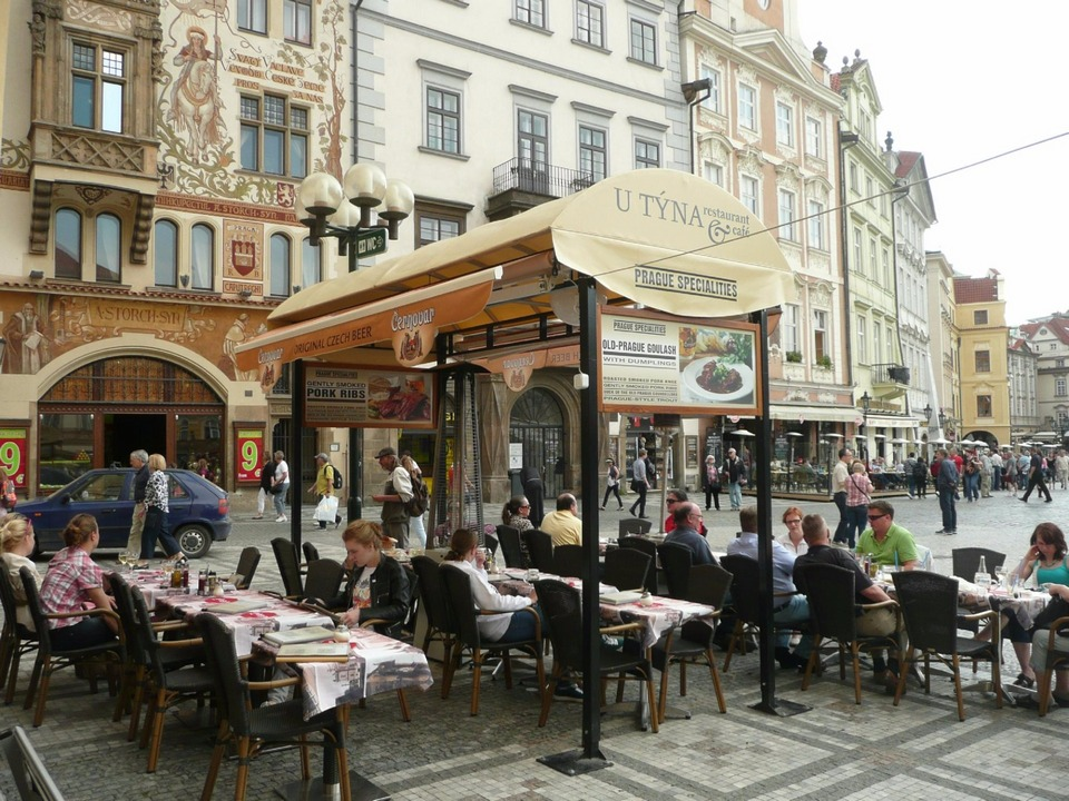 Restaurant Cafe U Tyna Prague