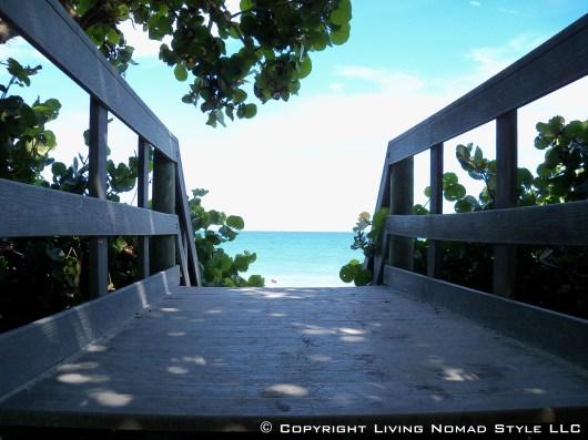Paradise Beach View From Bridge