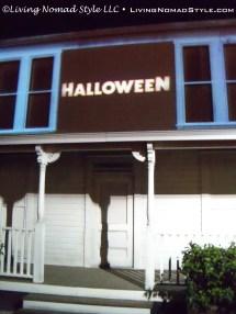 The Halloween House.