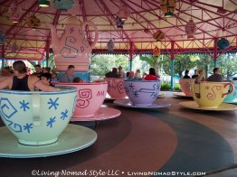 Spinning Tea Cups