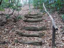 Jump Off Rock - Stairs On A Trail