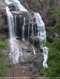 Lower View - Whitewater Falls 2