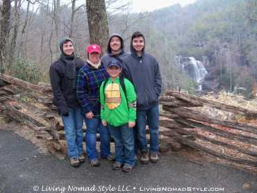 Nomads At Whitewater Falls