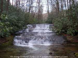 Random Waterfall - Pisgah National Forest