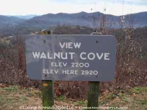 Walnut Cove Sign