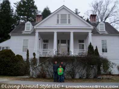 Carl Sandburg Home - Nomad Boys