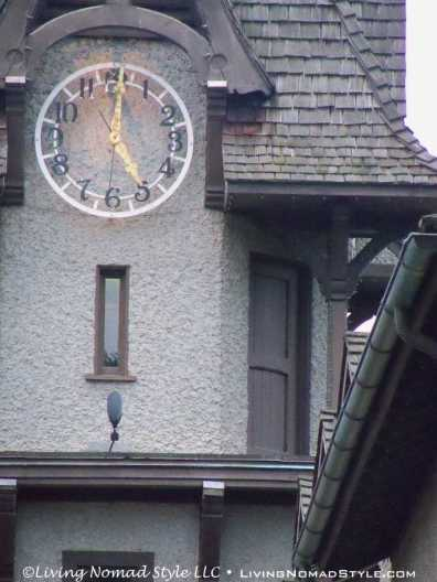 Clock Tower Door To Sand Bag