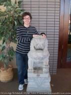 Noah With Lion