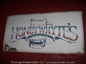 Honey Whytes Sign