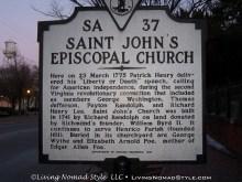 St Johns Church Sign