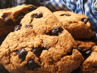 Fast and Easy Blueberry Scones