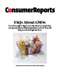 Consumer Reports FAQs About GMOs