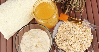 Living Non-GMO Skincare Mask Ingredients, Non-GMO Project Verified Oats, Honey, Yogurt