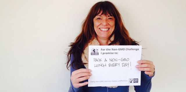 Joyce de Brevannes takes the Non-GMO Challenge