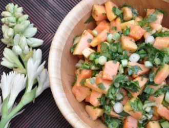 Fresh Papaya Salsa