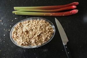 Rhubarb Crisp - fast & easy yet such a treat!