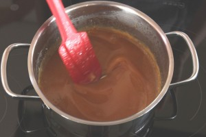 How to Make Caramel Sauce ~ Living on Cookies