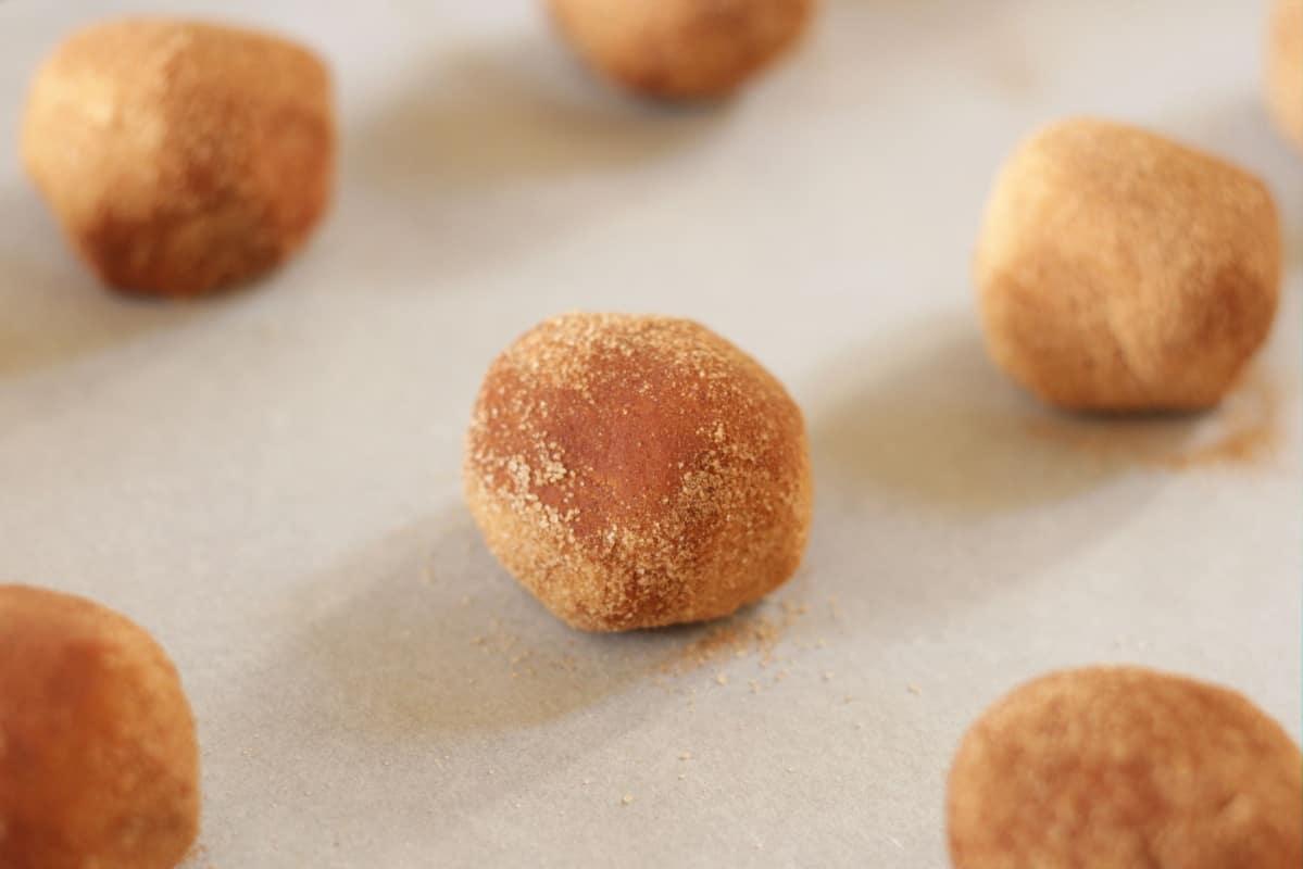 Snickerdoodles ~ Living on Cookies