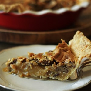 Old-Fashioned Pecan Pie (without corn, maple or any syrup)