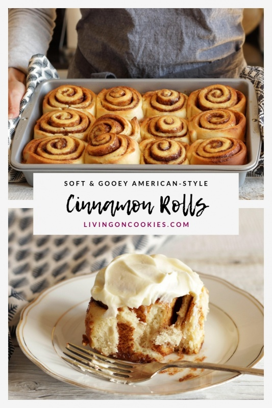 Homemade cinnamon rolls are the best! Each step of the recipe is easy to follow and these Cinnamon Rolls are 100% worth the effort.