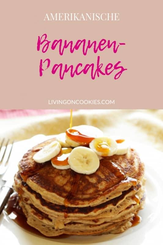 Pancakes wie Bananenbrot! Fluffig & saftig & extrem gut! Probiere das Rezept aus!