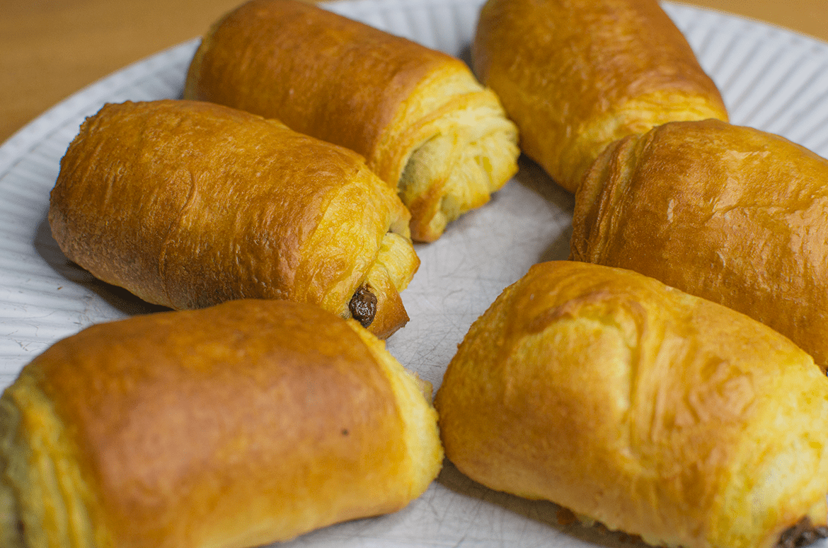 vegan alternative to pain au chocolat