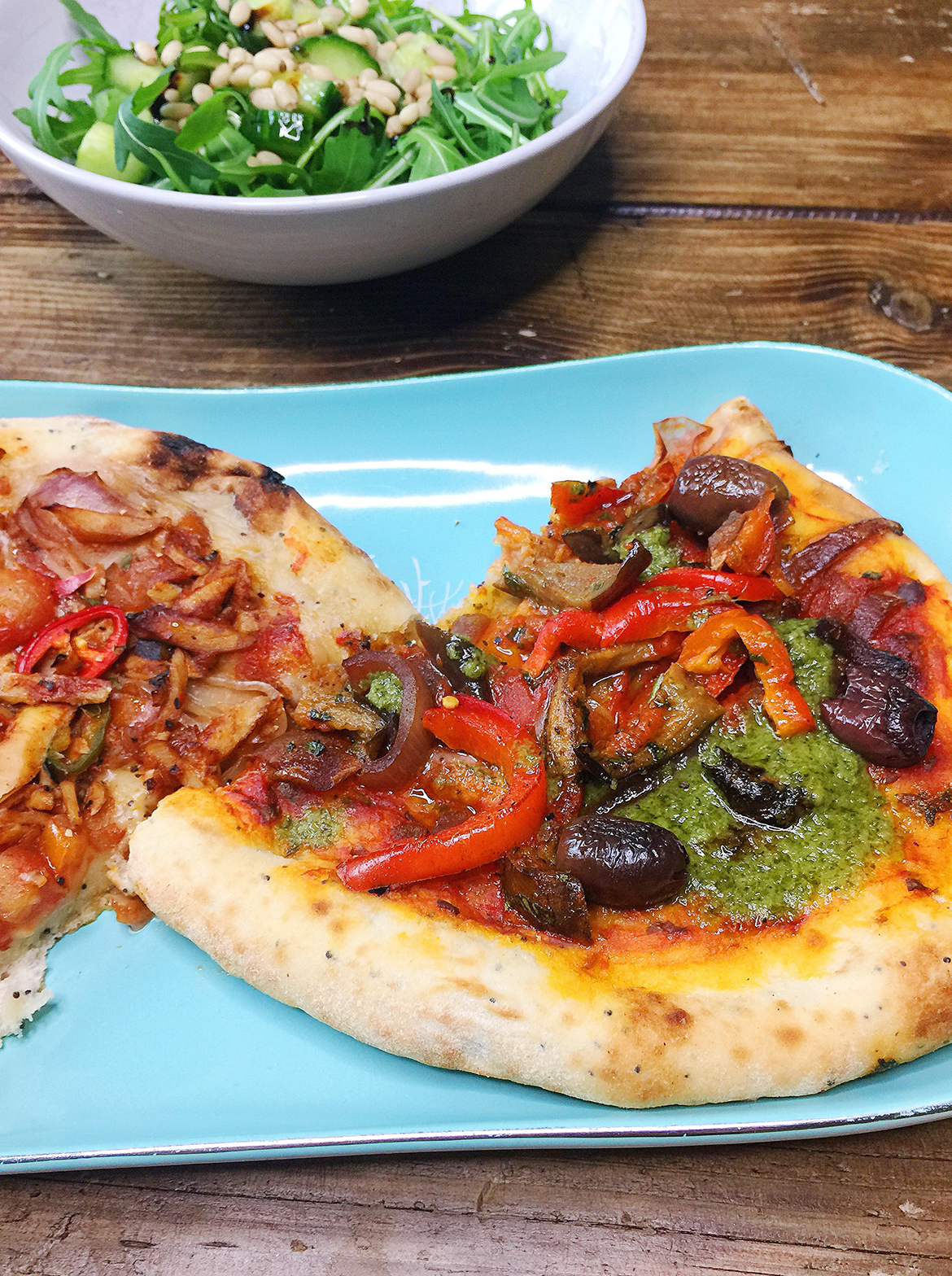 wicked kitchen vegan pizzas