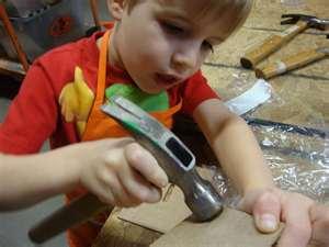 Free hands-on craft workshops for kids