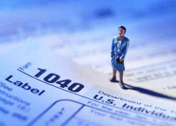 taxes-woman